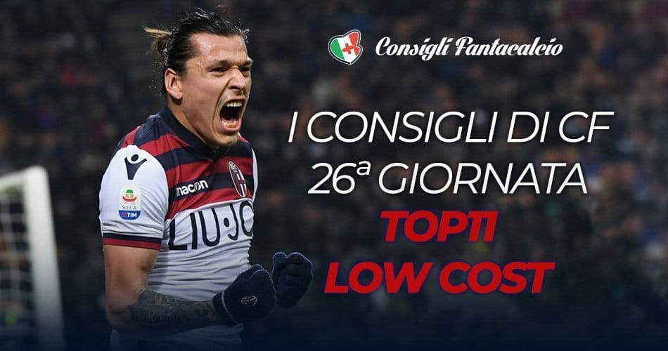 Scommesse low cost 26ª giornata